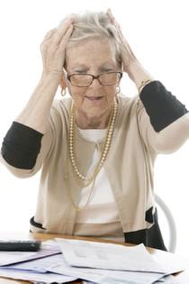 ablehnnung Rentnerkredit zu alt