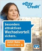 EasyCredit Testsieger beim Kreditvergleich