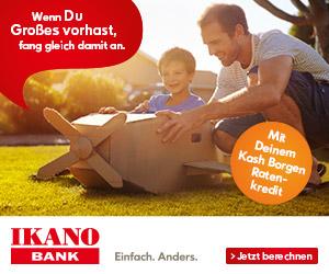 cash borgen Kredit von der Ikano Bank